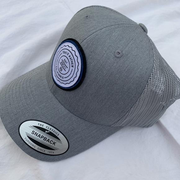 5b3d1ccfe3a New Grey Men s Travis Mathew Golf Trucker Hat OS